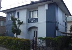 郡山市 S様邸 屋根塗装・外壁塗装・付帯部塗装・土間補修工事