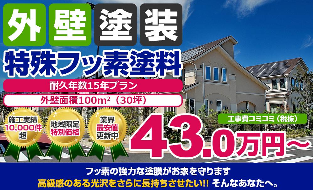 特殊フッ素塗装 43.0万円