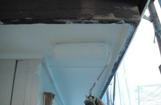軒天井 塗り