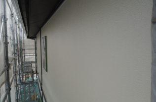 外壁中塗 完了