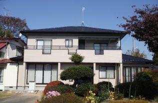 白河市 O様邸 屋根塗装・外壁塗装・付帯部塗装工事