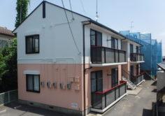 【郡山市】アパートD B棟 屋根外壁塗装工事
