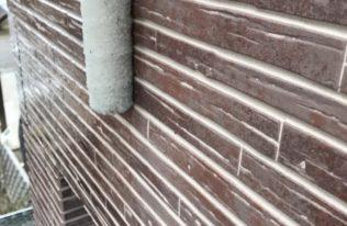 外壁 クリヤ塗装 状況