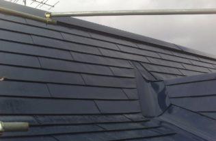 屋根 中塗り 完了