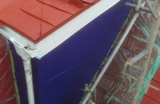 外壁 中塗り 完了