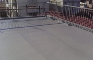屋上 防水工事 完了