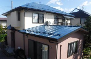 須賀川市 W様邸 屋根塗装・外壁塗装工事
