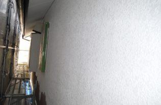 外壁 下塗り 完了