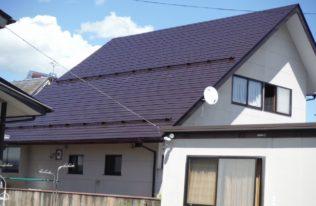 白河市 I様邸 屋根塗装工事