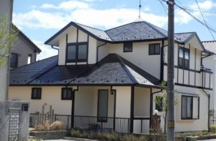 白河市 S様邸 屋根塗装・外壁塗装工事