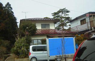 白河市 O様邸 屋根塗装工事