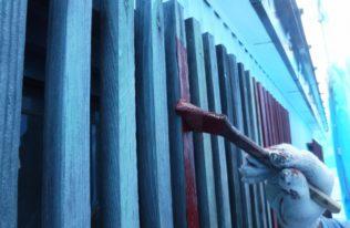 付帯部 木部塗装