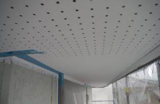 軒天 塗装完了