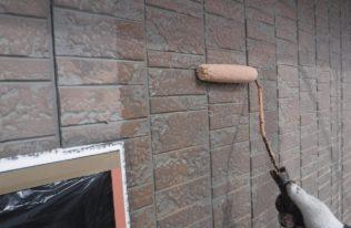 外壁下塗り状況
