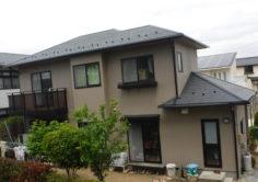 郡山市 K様邸 屋根塗装・外壁塗装工事