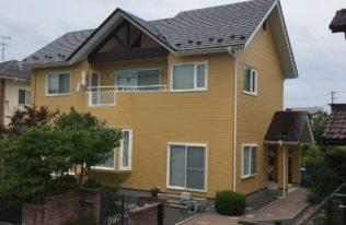 福島市 O様邸 屋根外壁塗装工事