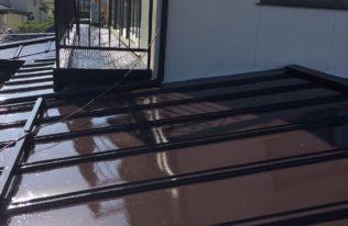 郡山市熱海町 K様邸 屋根塗装工事