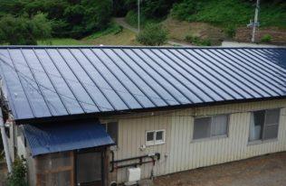 西郷村 D様邸 屋根塗装・屋根重ね葺き工事