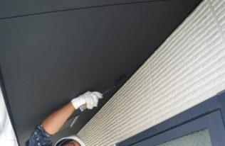 軒天井塗り