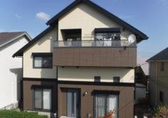 郡山市 K様邸 外壁塗装・屋根塗装・付帯部塗装工事