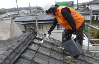 塗装工事【屋根下塗り】