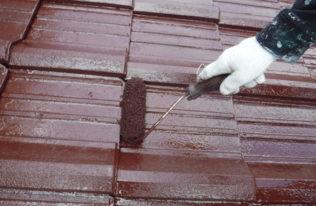 塗装工事【屋根上塗り】