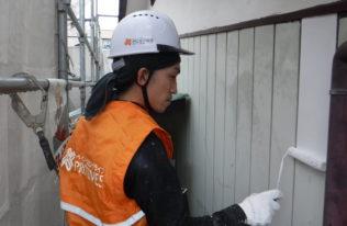 塗装工事【外壁下塗り】
