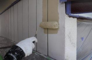 塗装工事【外壁中塗り】
