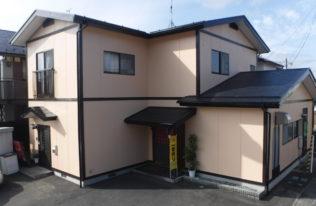 郡山市 S様邸 外壁塗装・屋根塗装・付帯部塗装工事