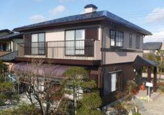 郡山市 M様邸 外壁塗装・屋根塗装・付帯部塗装工事