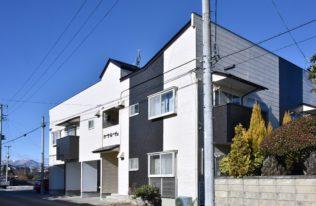 【郡山市】アパートK 屋根外壁塗装・補修工事