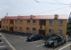 【南相馬市】Kアパート B 屋根外壁塗装工事