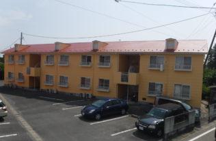【屋根・外壁塗装】南相馬市 Kアパート B