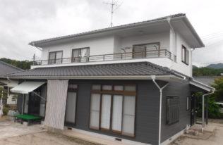 【外壁塗装】福島県いわき市小川町 S様邸