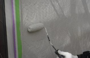 外壁 上塗り2階