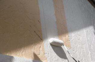 外壁 中塗り2階