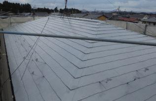 屋根下塗2回目 完了