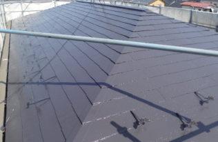 屋根上塗 完了