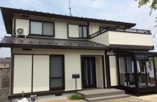 西郷村T様 屋根・外壁塗装工事