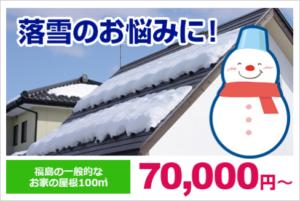 雪でお悩みの方へ|落雪、雪止め、雪対策の専門家 郡山市・須賀川市・いわき市・白河市・福島市・二本松市・本宮市・田村市