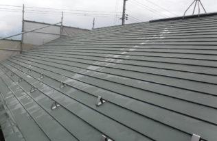 屋根 高圧洗浄後