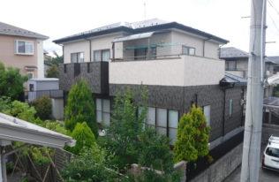 【田村市】A様邸 屋根外壁塗装工事