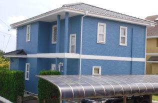 【外壁塗装】いわき市泉ヶ丘 Y様邸