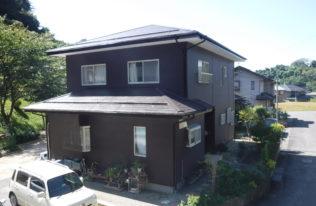 【郡山市】屋根塗装・外壁重ね張り工事