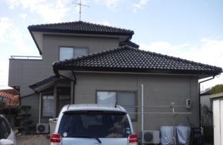 【屋根塗装】いわき市常磐 O様邸