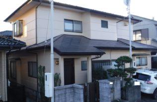 【屋根・外壁塗装】いわき市湘南台 S様邸