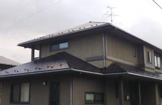 【屋根塗装】郡山市 S様邸