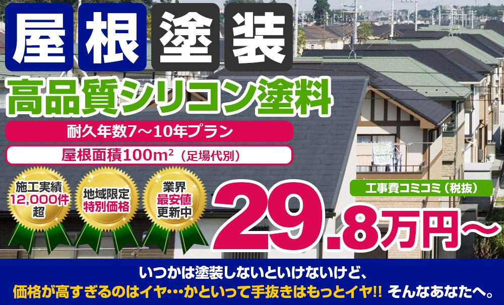 高品質シリコン塗装 29.8万円