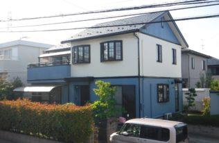 【屋根重ね葺き・外壁塗装】郡山市 H様邸