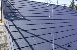 屋根 重ね葺き完了2
